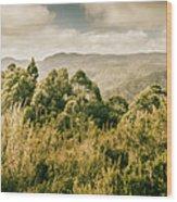 Savage River Lookout, Tarkine, Tasmania Wood Print