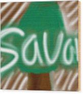 Savana Wood Print