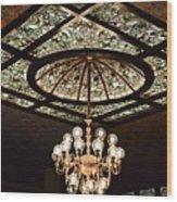 Savannah Antique Ceiling Wood Print