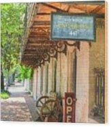 Savannah Antique Shop Wood Print