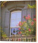Savannah Balconies II Wood Print
