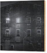 Savannah By Night Wood Print
