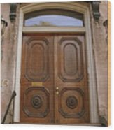 Savannah Doors I Wood Print