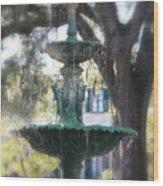 Savannah Green Wood Print
