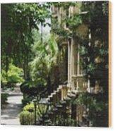Savannah Historic District  Wood Print