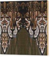 Save The Cheetahs Wood Print