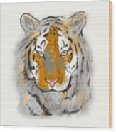 Save The Tiger Wood Print