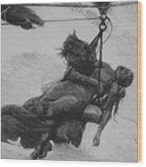 Saved, 1889 Wood Print