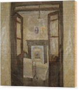 Savitri Guesthouse Wood Print