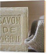 Savon De Marseille Wood Print