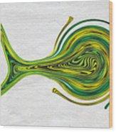 Saw Fish Wood Print