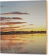 Sawyer Pond  Wood Print