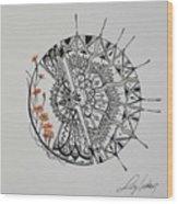 Saxifraga 'peter Pan' Wood Print