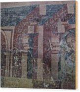 Saxon Medieval Frescoes, Transylvania Wood Print