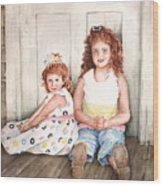 Sayler And Tayzlee Wood Print