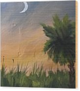 Sc Sunset  Wood Print