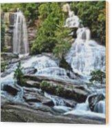 Sc Twin Falls Wood Print