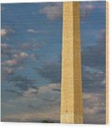 Scaling The Washington Monument Wood Print