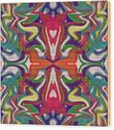 Scallia Wood Print