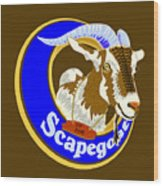 Scapegoat For Hire Wood Print by Laura Brightwood