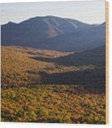 Scar Ridge Autumn Wood Print