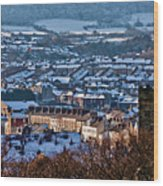 Scarborough Town Wood Print