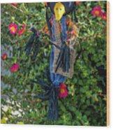 Scare Bird Wood Print