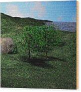 Scenery Wood Print
