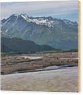 Scenic Alaska Color  Wood Print