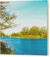 Scenic Branch Brook Park Wood Print