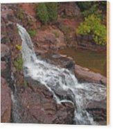 Scenic Gooseberry Falls Wood Print