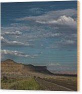 Scenic Highways Of Arizona Wood Print