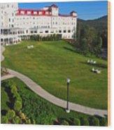 Scenic New England Wood Print