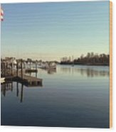 Scenic River 01 Wood Print