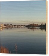 Scenic River 02 Wood Print