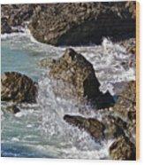 Scenic Sea Wood Print