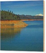 Scenic Shasta Lake Wood Print