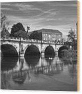 Scenic Shrewsbury Wood Print