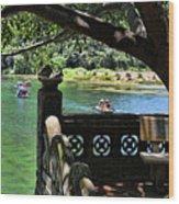 Scenic Tam Coc Boat Tour Wood Print