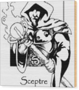Sceptre Wood Print