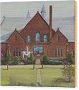 Schaeffer Center  Ally View Frederick Md Wood Print