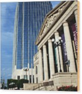 Schermerhorn Symphony Center Nashville Wood Print by Susanne Van Hulst
