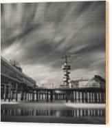 Scheveningen Pier 2 Wood Print