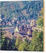 Schloss Heidelberg Wood Print