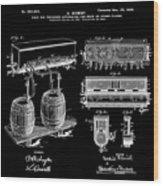 Schmidts Of Philadelphia Cold Beer Tap In Black Wood Print