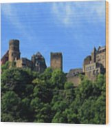 Schoenburg Castle Oberwesel Germany Wood Print