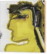 Schoene Griechin Wood Print