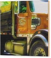 Schoenecker Trucking Wood Print