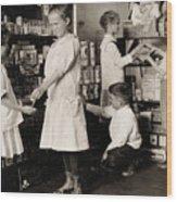 School Store, 1917 Wood Print