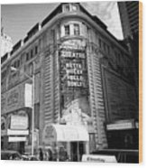 schubert theatre featuring hello dolly New York City USA Wood Print